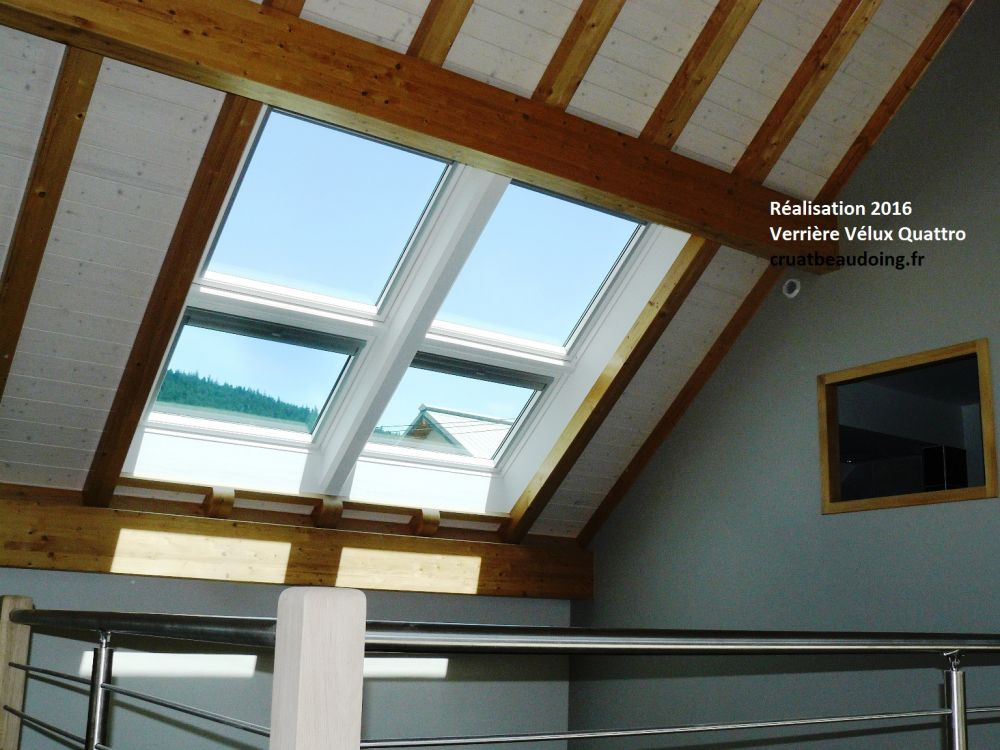 Pose verriere velux velux bio climatic for Costo velux 55x98
