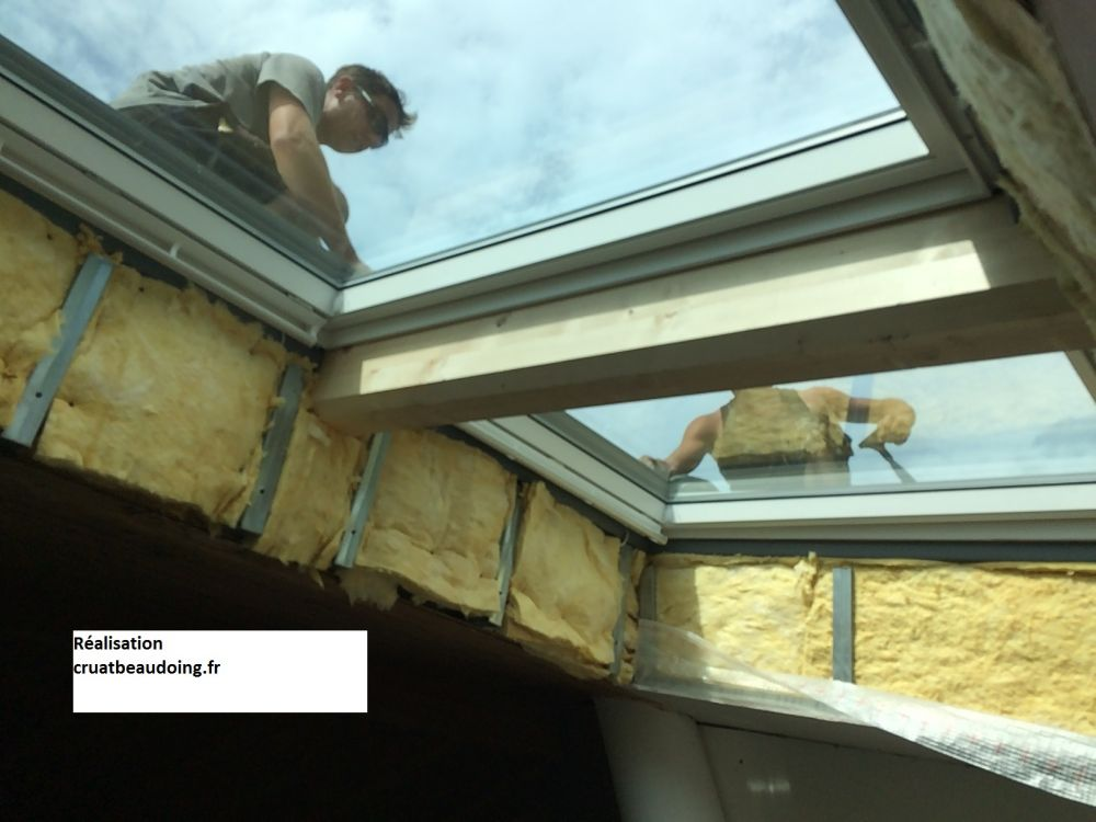 Isolation velux remplacement de velux for Fenetre d interieur