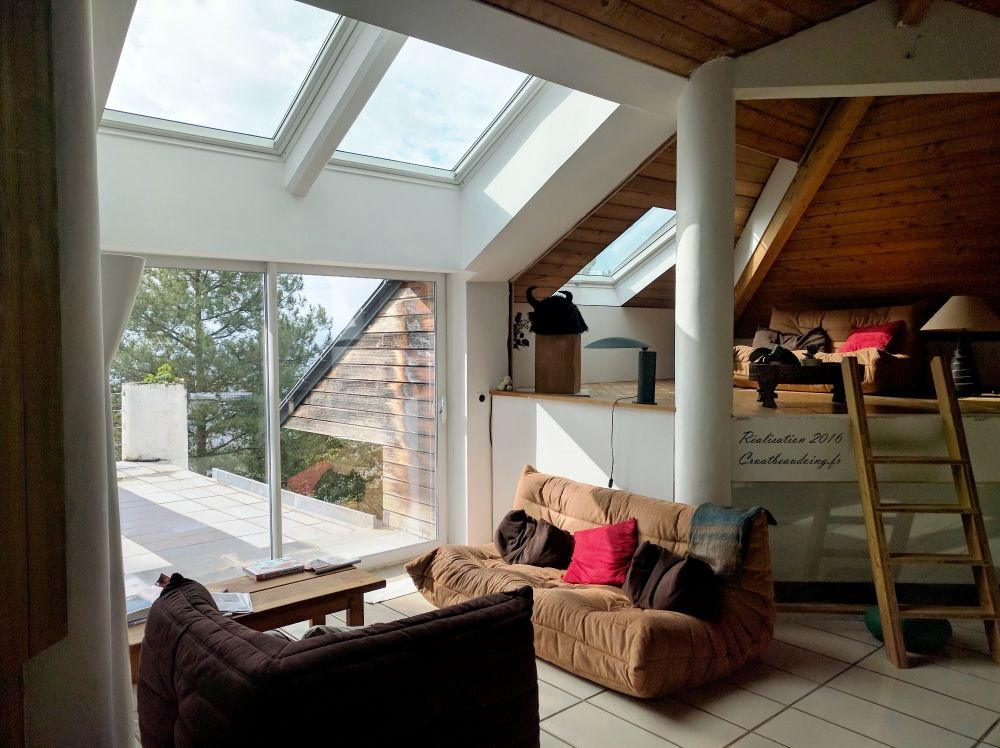 Pose verriere velux velux bio climatic for Construire verriere