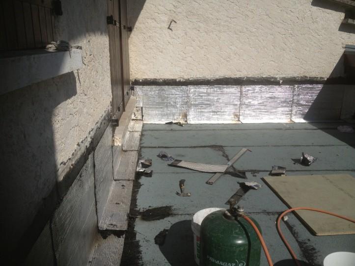 Maintenance terrasse isere maintenance toiture terrasse - Pose bardeau bitume ...