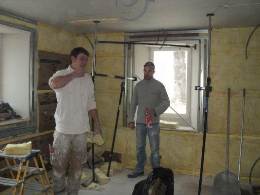 isolation d'un encadrement de fenetre de mur épais en rénovation
