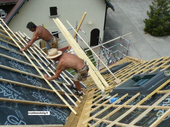 Pose couverture toit montagne couverture villard de lans - Difference entre pas de porte et fond de commerce ...