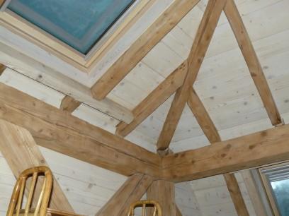 Renovation chalet isere renovation maison grenoble - Isolation toiture par l interieur ...