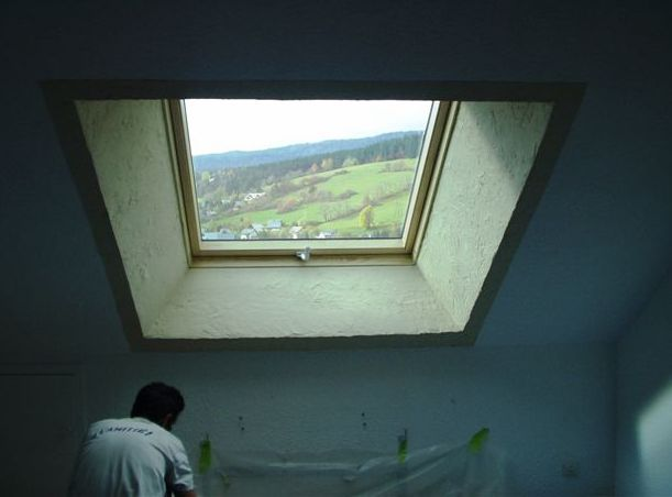 Habillage fenetre de toit lsb velux s avignon 1123 for Habillage fenetre de toit