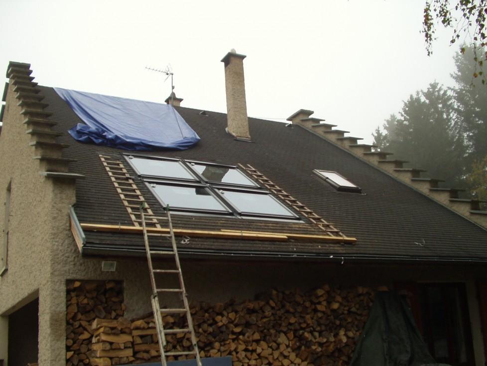 entreprise pose velux is re installation fen tre toit cr ation verri res velux is re. Black Bedroom Furniture Sets. Home Design Ideas