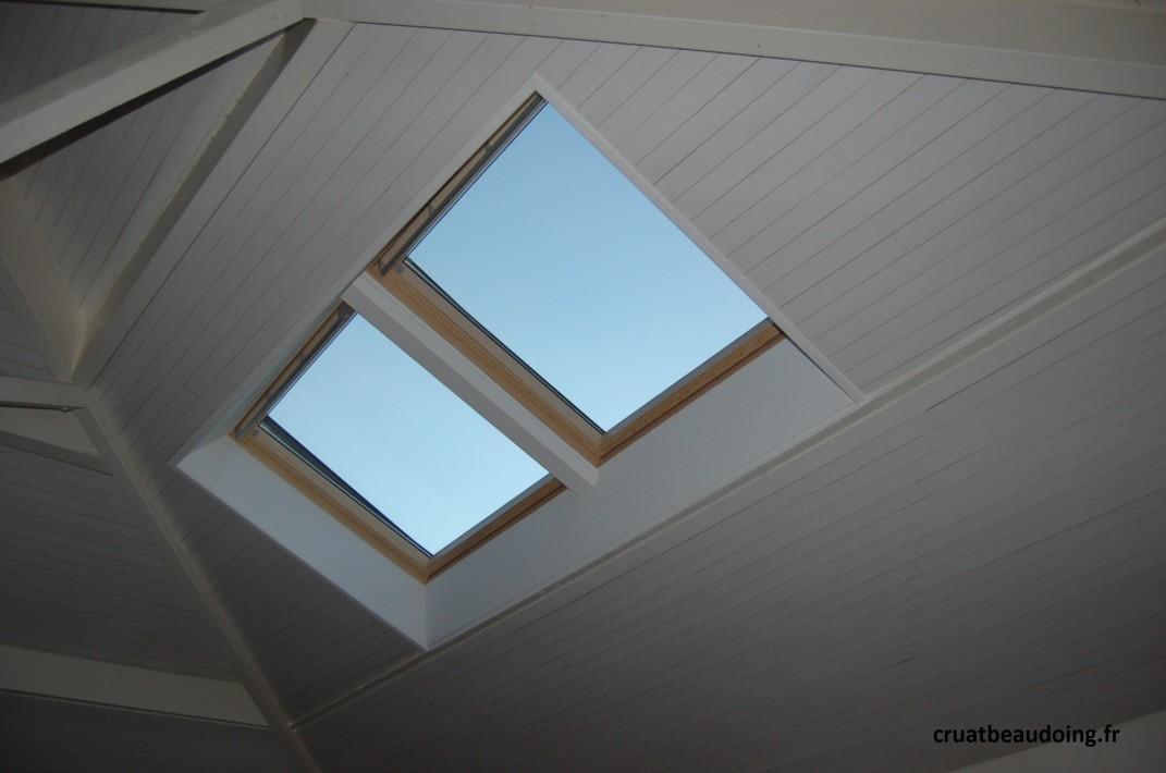 Fenetre velux integra pose v lux 91 d couvrez la gamme for Pose fenetre de toit leroy merlin